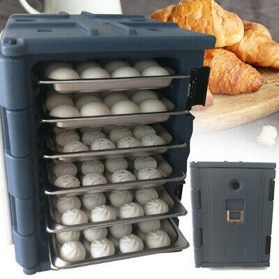 90L Food incubator Hot Cold Food Pan Carrier Box Commercial Insulated Catering