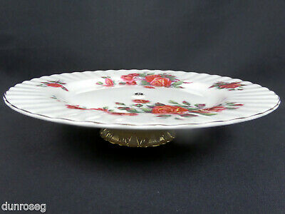 Heart Dish Vintage Mikasa From My Heart Pink Center Heart Roses and Flowers White Embossed Porcelain
