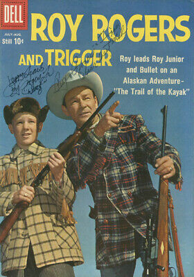 "Roy Rogers - Comic Book Signed Co-Signed By: Roy ""Dusty"" Rogers, Jr."