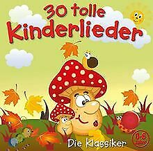 30 Tolle Kinderlieder (Vol.2) von Kiddy Club | CD | Zustand gut