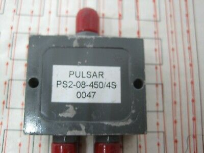 1Pcs PS2-08-450/4S Power Divider with Frequency 1500 to 3000 MHZ PULSAR MICROWAV