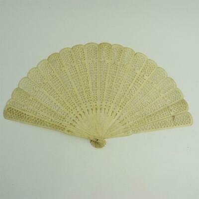 19th CENTURY CHINESE CANTON HAND FAN