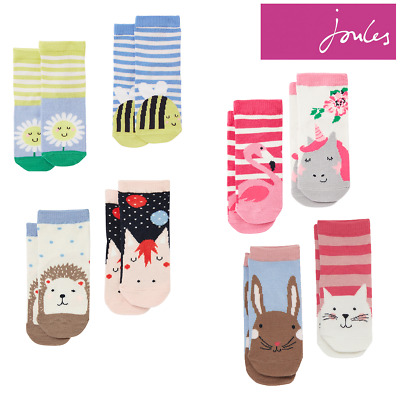 Joules Neat Feet Character Socks - 2 Pack