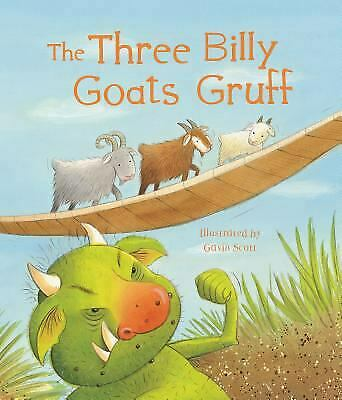 The Three Billy Goats Gruff by Parragon