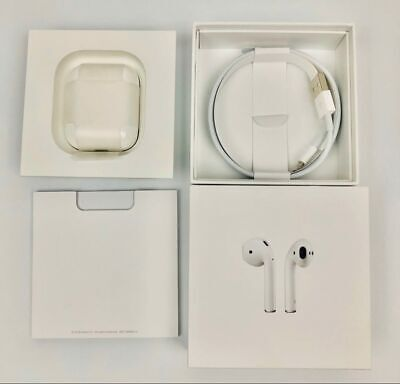Apple Airpods Gen2 - Genuine A2032 A2031 A1602 Mv7N2Am/A