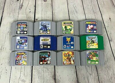 Lot of Nintendo 64 (Cartridge Only) Games, You Choose!