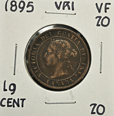 1895 Canada One Cent VF-20