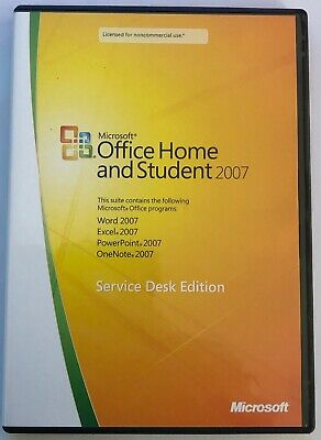 Microsoft Office Home And Student 2007 - Service Desk Edition