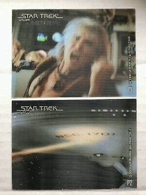 STAR TREK THE COMPLETE MOVIES IN MOTION LENTICULAR INSERT SINGLE PICK ONE L1 L2+