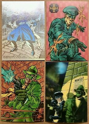 Green Hornet Hologravure 1H - 4H Promo Set Of 4 Cards - Now Comics 1993