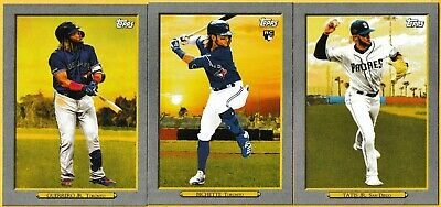 2020 Topps Series 1 Turkey Red Inserts Pick Your Card(s) Complete Your Set