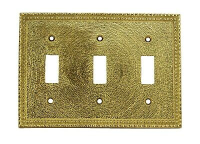Harris Hardware (200/4) antique switch plate for 3 switchs