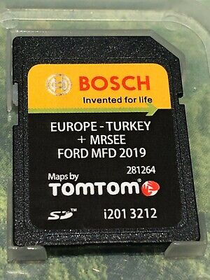 VERY LATEST FORD MFD 2019/2020 V9 NAVIGATION SD CARD SAT NAV MAP UK and EUROPE