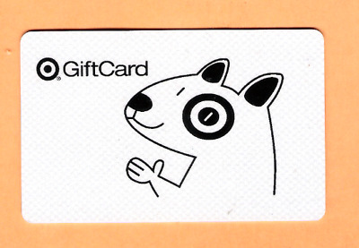 Collectible 2005 Target Gift Card - Target Dog - No Cash Value