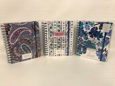 Vera Bradley 2020 Medium 17 Month Planners  Choose One