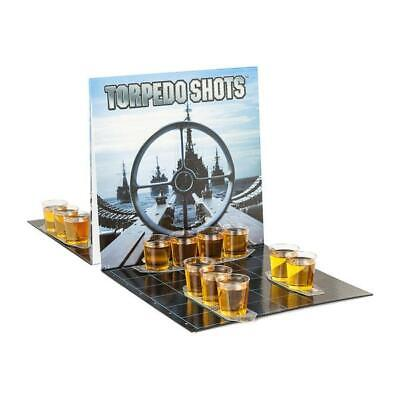Barbuzzo Torpedo Shots - Ultimate Party Drinking Game - Battleships Shots NEW