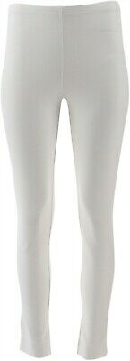 Women with Control Petite Slim Leg Ankle Pants White PXL NEW A306481