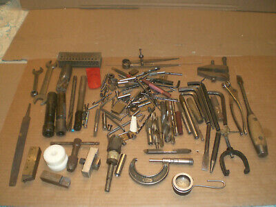 Mixed Machinist lot from tool box clean out   lot 2