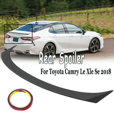 FOR 2007-2011 TOYOTA CAMRY LE SE XLE GLOSSY BLACK SPORT STYLE TRUNK LID SPOILER