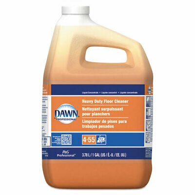 Dawn Professional Heavy-Duty Floor Cleaner, Neutral Scent, 1Gal Bottle, 3/Carton