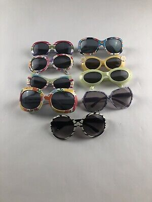 Girls LOT OF 9 Gymboree Sunglasses Children's Place AGES 4-7