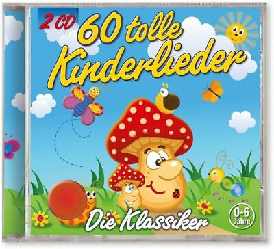 60 Tolle Kinderlieder | CD | NEU | von Kiddy Club