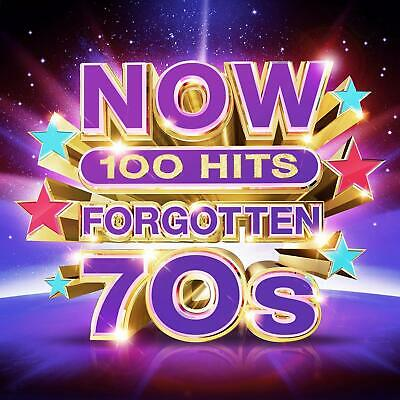 NOW 100 Hits Forgotten 70s ~ Box Set CD ALBUM ~ New Released