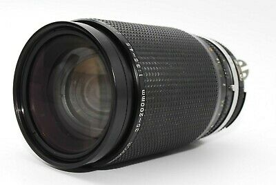 【MINT】Nikon Zoom-NIKKOR Ai-S 35-200mm f/3.5-4.5 MF Zoom Lens From Japan 1045