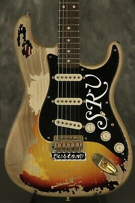 Stevie Ray Vaughan/'s Fender Stratocaster Number One Greeting Card DL size
