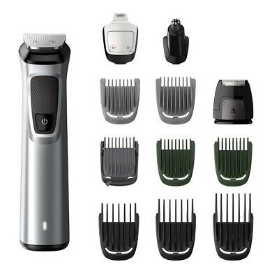 PHILIPS MG7710 Wet/Dry Electric Beard Hair Body Groomer Shaver Nose Ear Trimmer