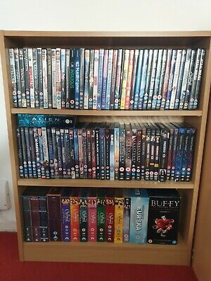 Large Bundle Job Lot Of Well Over 100 DVD's. Over 75 movies & various tv series.