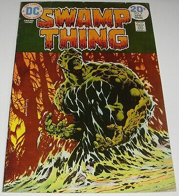 Swamp Thing No 9 DC Comic April 1974 Classic Bronze Age Issue Berni Wrightson