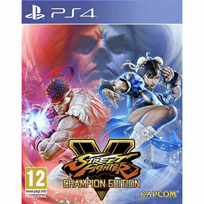 Street Fighter V 5 Champion Edition Sony PS4 (UK NEW &SEALED) Capcom Beat'em Up