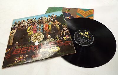 THE BEATLES 'Sgt Pepper's Lonely Hearts Club Band' Vinyl LP + Insert - C53