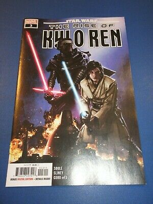 Star Wars The Rise of Kylo Ren #3 NM Gem wow