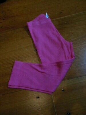 HANNA ANDERSSON 140 US 10 yr Pink Ribbed Capri Leggings Cropped
