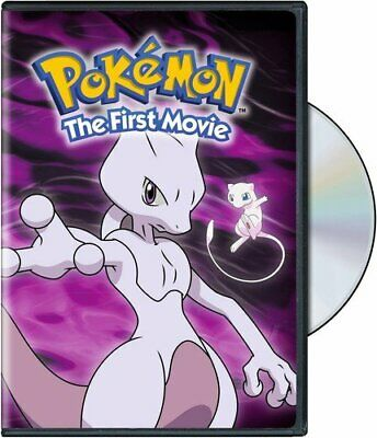 Pokemon the First Movie: Mewtwo Strikes Back Veronica Taylor DVD NEW
