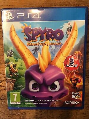Spyro Reignited Trilogy (PlayStation 4, Ps4)