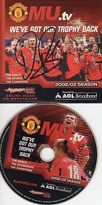 Diego Forlan Autograph,  Manchester United,  Football, Soccer