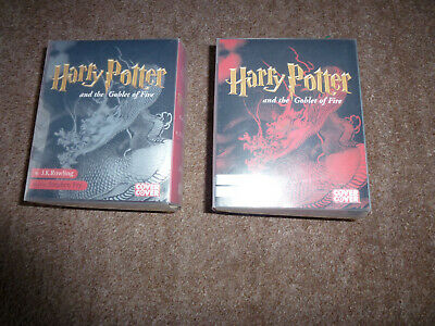 Harry Potter And The Goblet Of Fire - Audio Cassettes-Read By Stephen Fry
