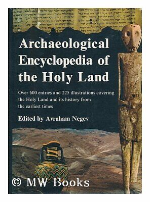 Archaeological Encyclopedia of the Holy Land,Avraham Negev