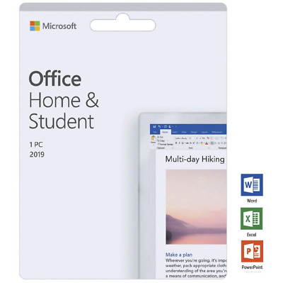 Microsoft Office 2019 Home and Student for Windows 10 1 User