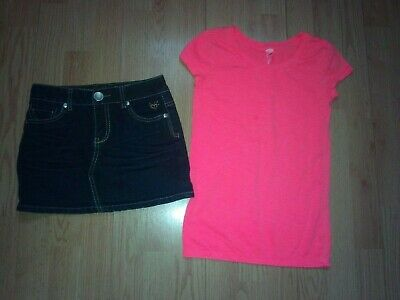 Justice 2 Piece Girls Outfit Size 8