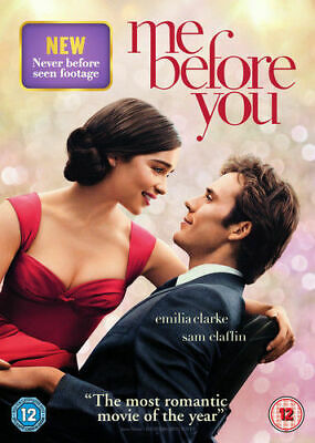 Me Before You DVD (2016) NEW