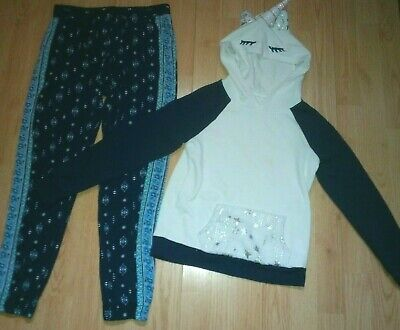 Justice 2 Piece Girls Outfit Size 10-12
