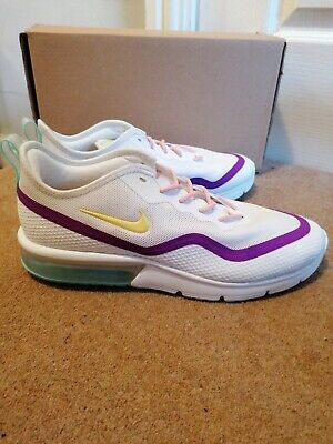 Nike Air Max Sequence White Pink Green Yellow Uk8 lot New BOXED