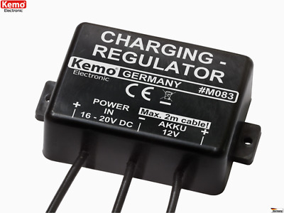 Akku Laderegler 12 V/DC Battery charging regulator M083 Kemo