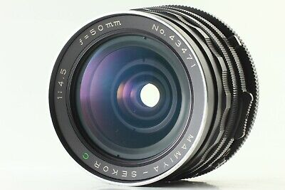【Excellent+++++】 Rare! Mamiya Sekor C 50mm f/4.5 Lens For RB67 Pro S SD #853