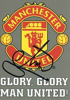 Mikael Silvestre Autograph, Manchester United, Football, Soccer