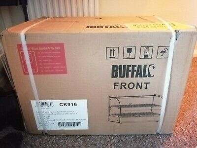 Buffalo 2 Tier Heated Food Display 45 Litre  - CK916 Catering Cafe Pie Warmer